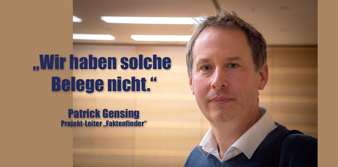 Patrick Gensing | Foto: © Jörg Wagner