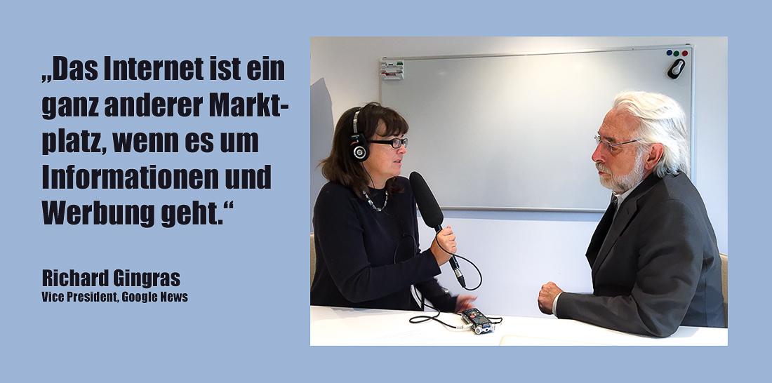 Vera Linß - Richard Gingras | Foto: © Ralf Bremer