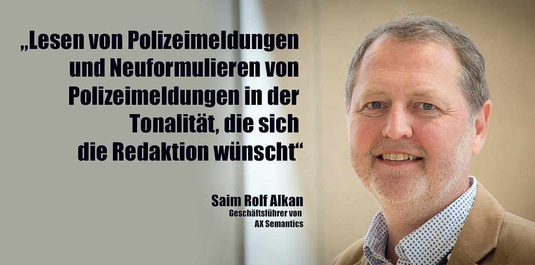 Saim Rolf Alkan | Foto: © Jörg Wagner