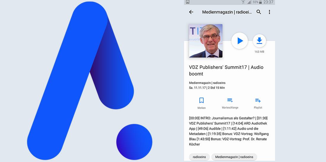 Neue ARD-Audiothek App