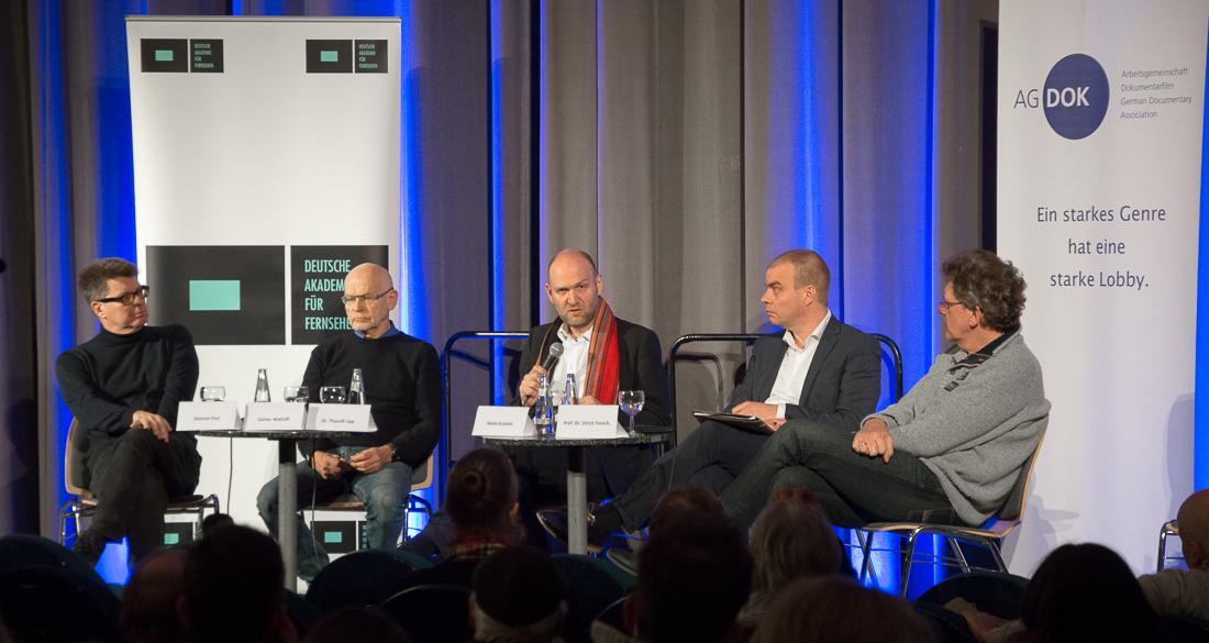 Dietmar Post - Günter Wallraff - Thorolf Lipp - Malte Krückels - Ulrich Teusch | Foto: © Jörg Wagner