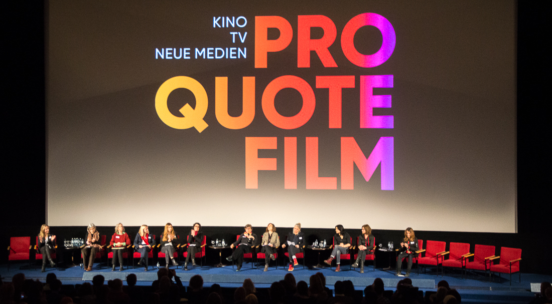 Pro-Quote-Pressekonferenz im Kino International | Foto: © Jörg Wagner