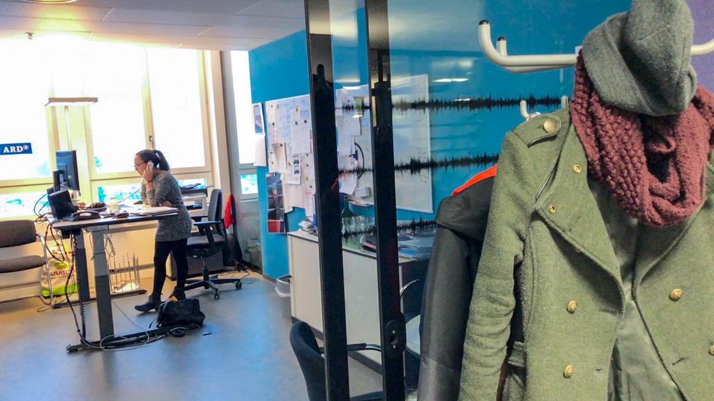Sekretariat mit Assistentin Rebecca Jiménez im ARD-Studio Zürich | Foto: © Jörg Wagner