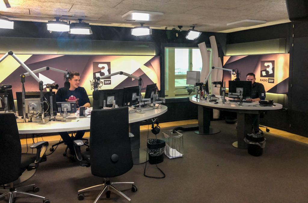 Sendestudio von Radio SRF 3 in Zürich | Foto: © Jörg Wagner