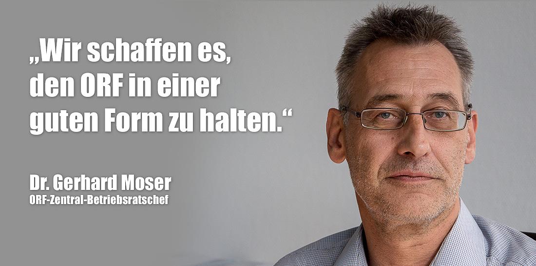 Gerhard Moser | Foto: © Jörg Wagner