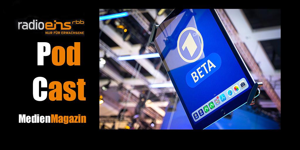 Tablet mit der Beta-Version der neuen ARD-Mediathek | Foto: © Jörg Wagner