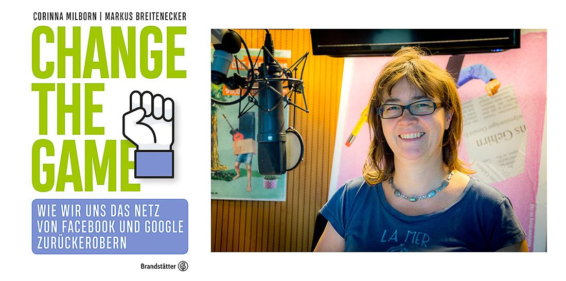 Vera Linß im radioeins-Sendestudio | Foto: © Jörg Wagner