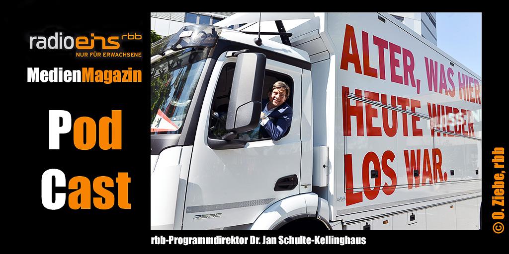 Dr. Jan Schulte Kellinghaus zum Start der rbb-Kampagne am 29.08.2017 | Foto: © rbb/Oliver Ziebe