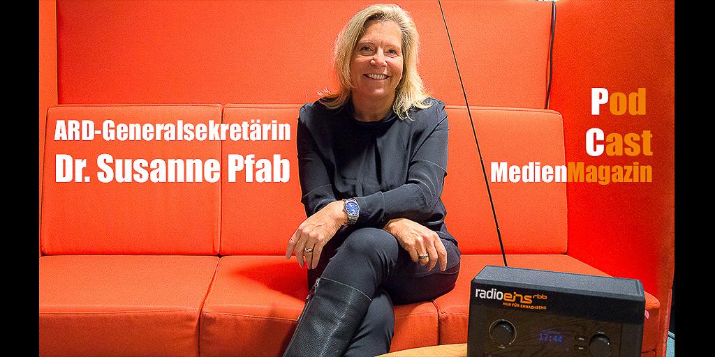 ARD-Generalsekretärin Dr. Susanne Pfab zu Gast bei radioeins  | Foto: © Jörg Wagner