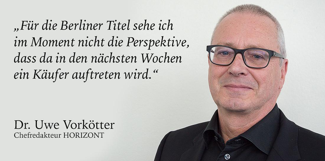 Uwe Vorkötter | Foto: © Jörg Wagner