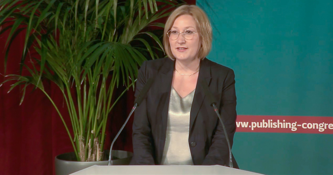 Julia Maria Bönisch | Screenshot: European Publishing Congress