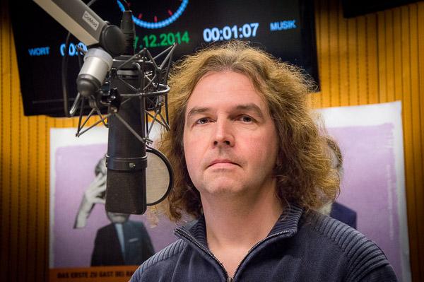 Kai Ludwig im radioeins-Studio