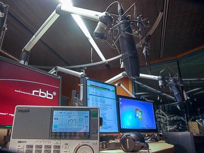 Noch spielt sie im Radio: 177 kHz (radioeins-Studio)