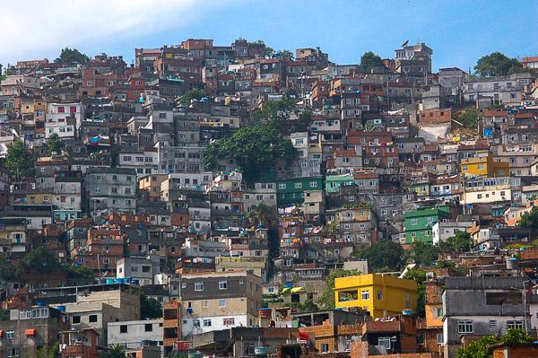 Favela Rocinha | Foto: © Jörg Wagner
