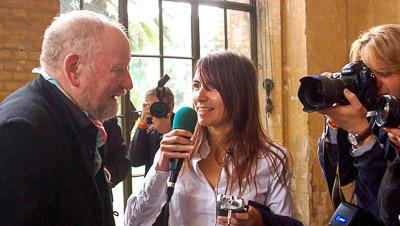 Kurt Westergaard im Interview mit Eleni Klotsikas