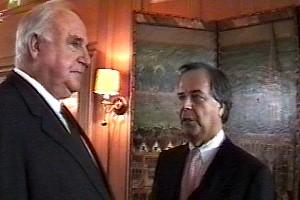 Bundeskanzler Dr. h.c. Helmut Kohl und Prof. Dr. h.c. Dieter Stolte