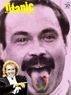 Titanic-Cover 10/1988  mit Bernd Fritz und Thomas Gottschalk